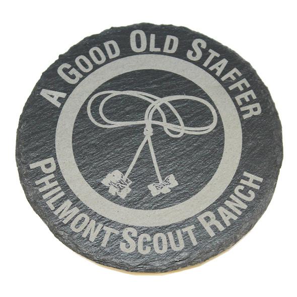 Slate Staff Coaster