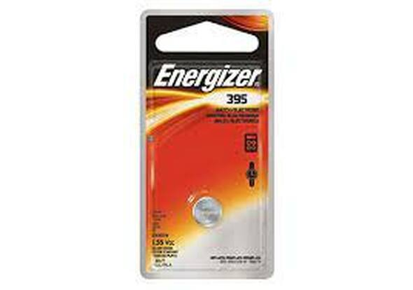 BATTERY ENERGIZER WATCH 395