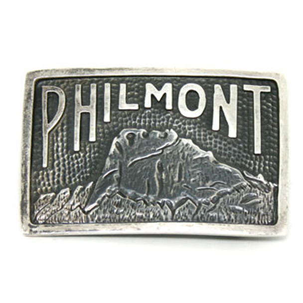 Classic Sterling Silver Belt Buckle