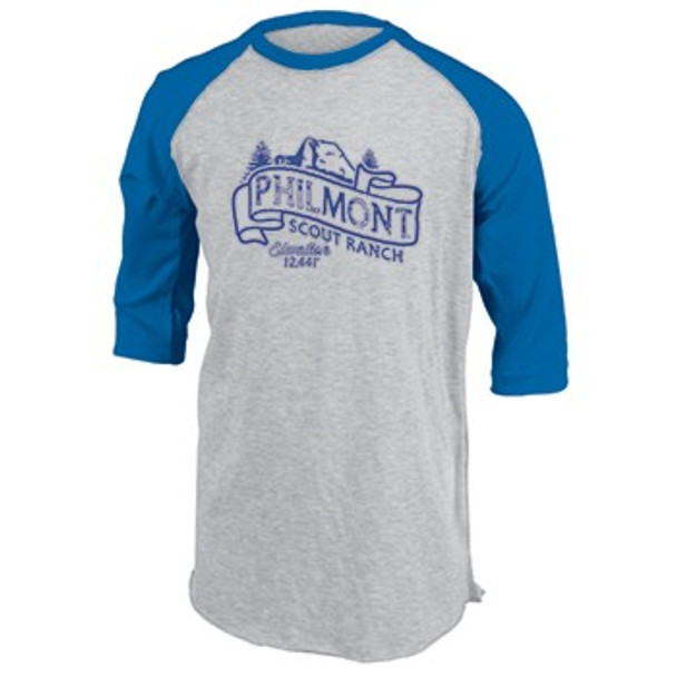 Ouray Tooth of Time Baseball T-Shirt