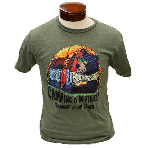 Camping is In-Tents Tee