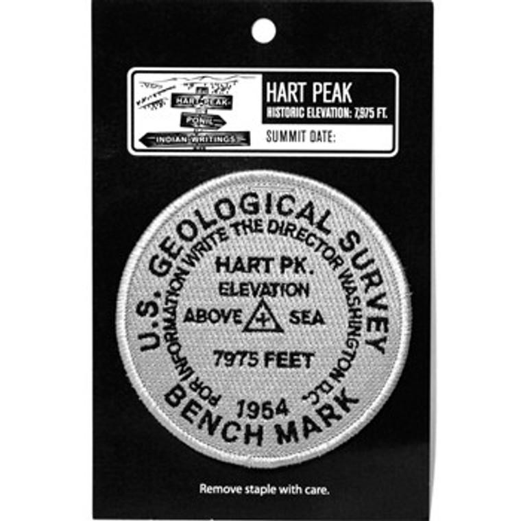 USGS Hart Peak Elevation Patch