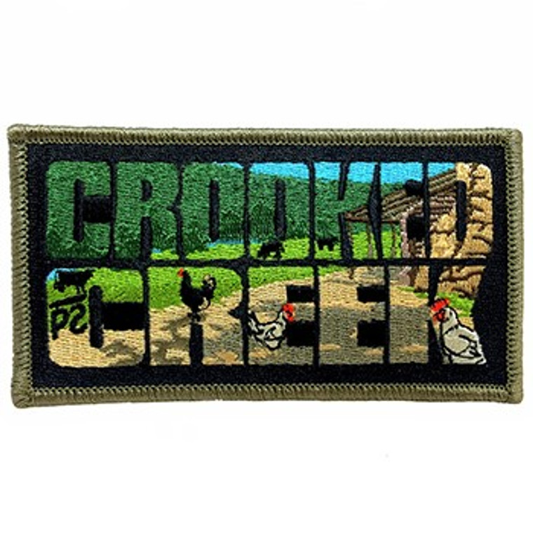 Crooked Creek Camp Patch
