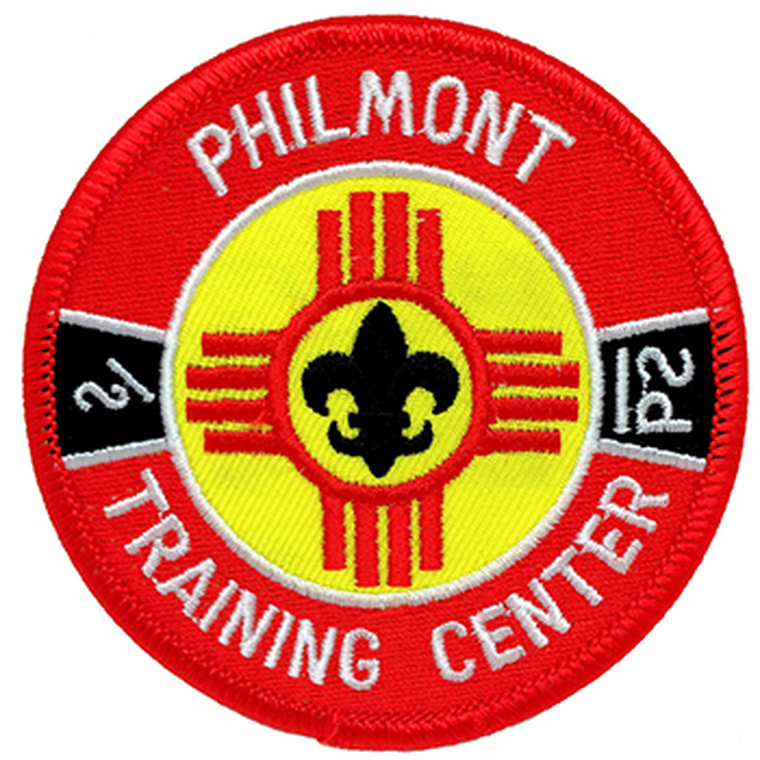 "Philmont Training Center 3"" Patch"