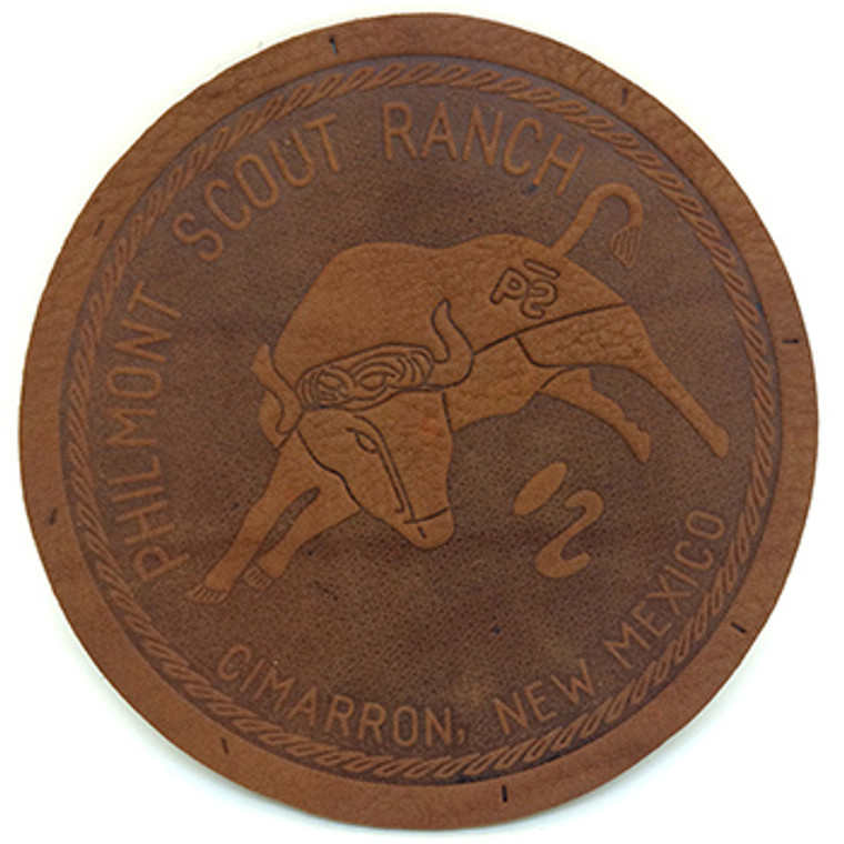 leather bull patch
