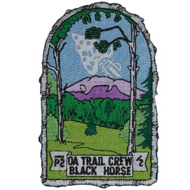 OA Trail Crew Black Horse Patch