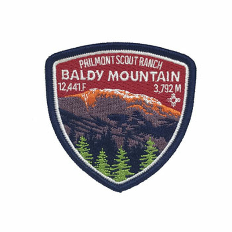 Baldy Mountain Shield Patch