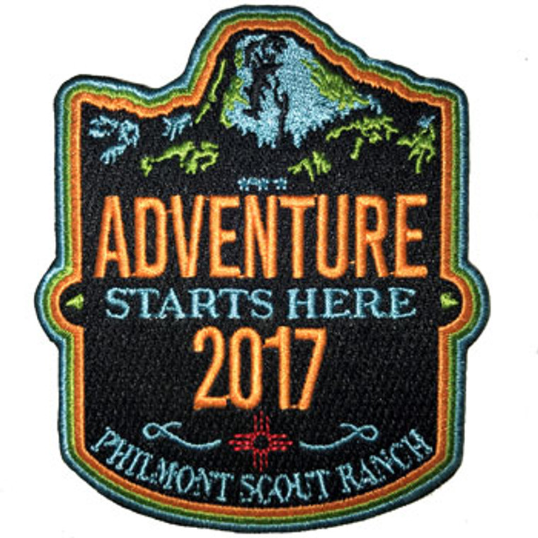 Philmont Adventure Patch 2017