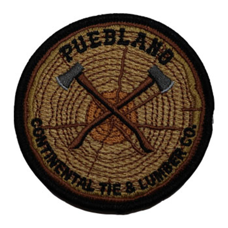 Pueblano Camp Patch