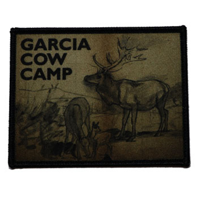 Garcia Cow Camp Patch