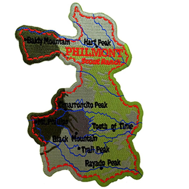 Philmont Map Patch