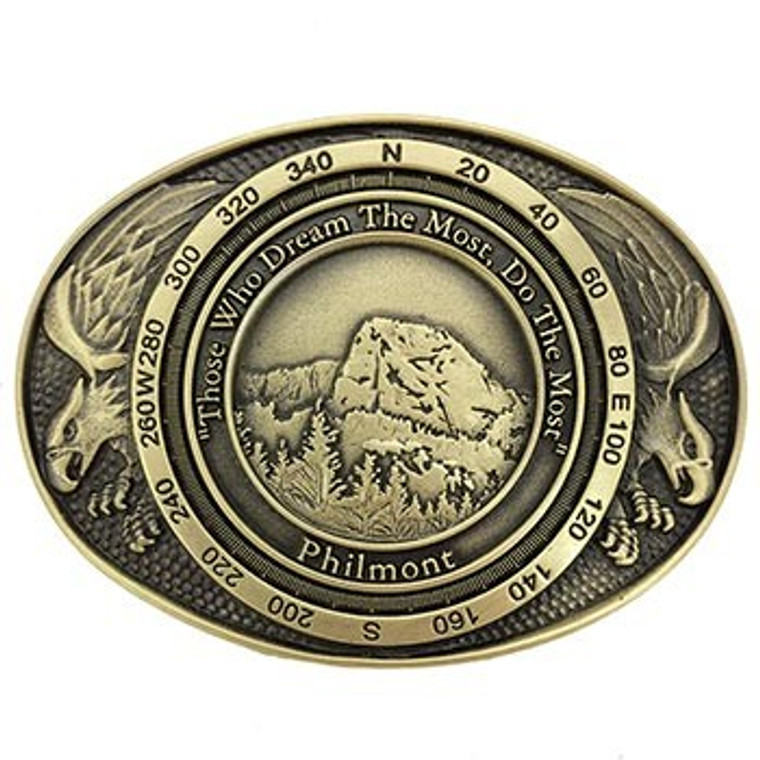 Tooth of Time Eagle Buckle - Bronze