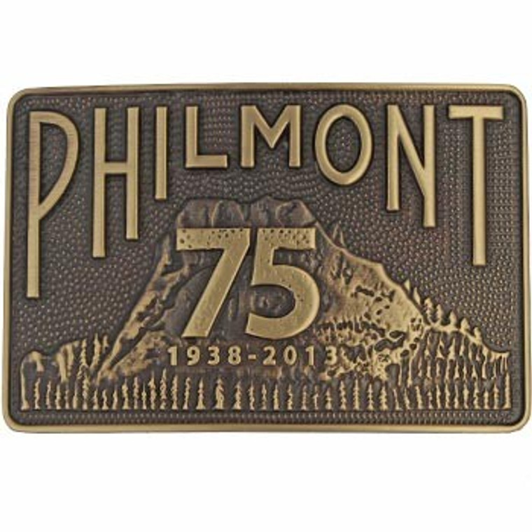 Tooth of Time 75th Edition Buckle - Bronze