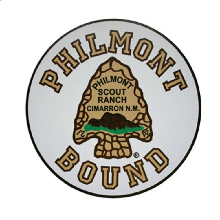 Philmont Bound Car Magnet