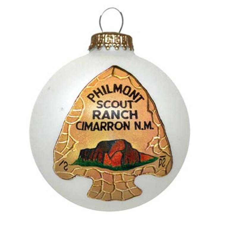 Arrowhead Ball Ornament