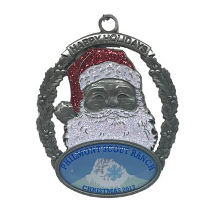 2017 Philmont Santa Ornament