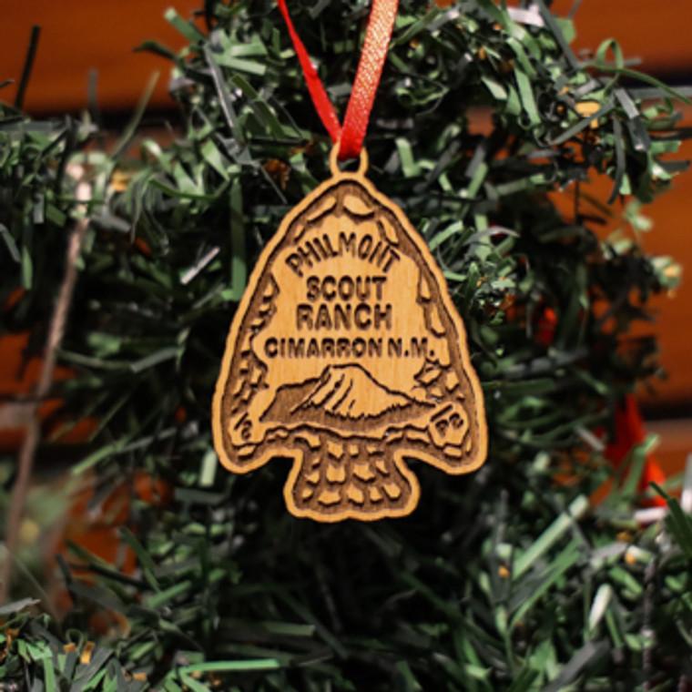 Philmont Arrowhead Laser Engraved Mini Ornament