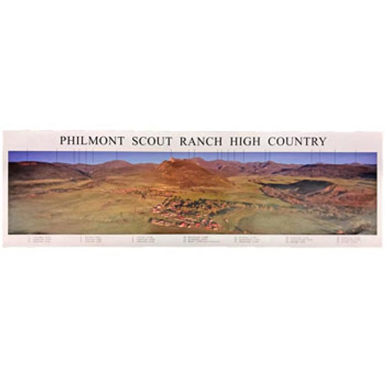 Panoramic Peaks Poster