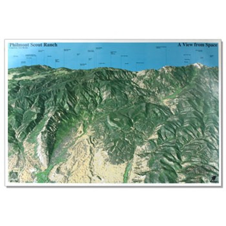 NASA View of Philmont from Space Poster