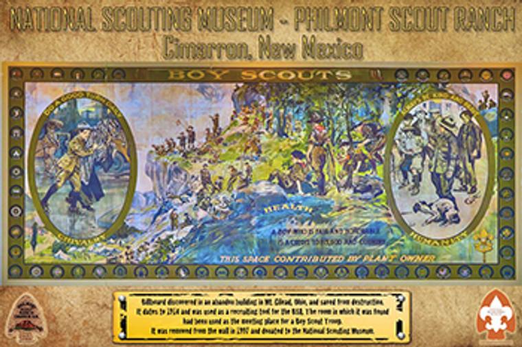 Philmont Museum Billboard Poster