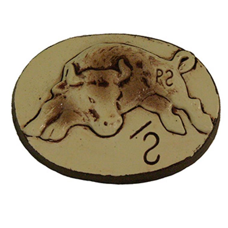 Ceramic Philmont Bull Slide