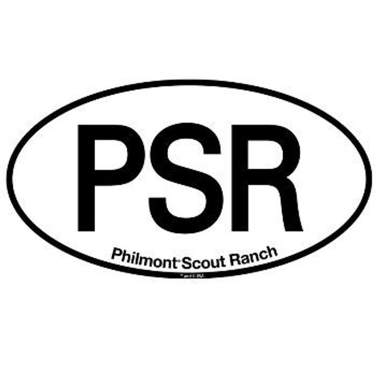 Philmont Scout Ranch Oval, Sticker