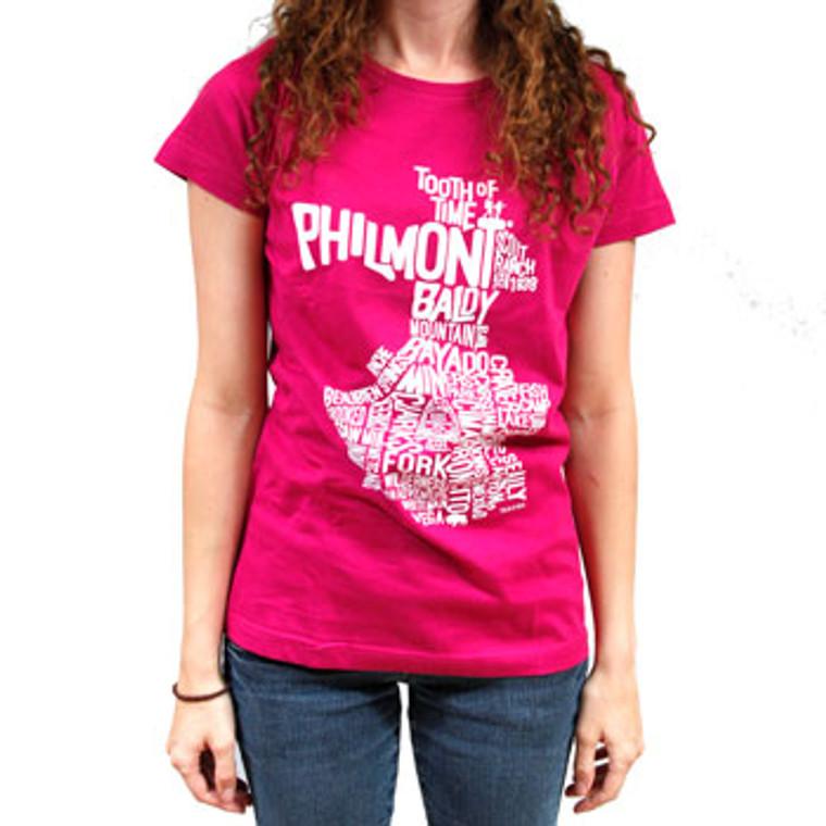 Word Map Women's T-Shirt