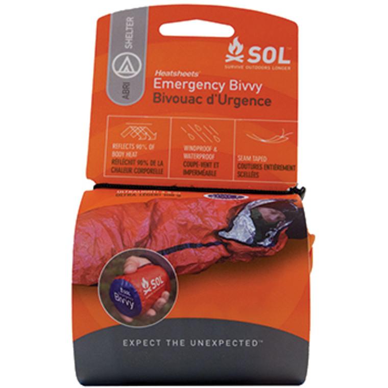 SOL Heatsheets Emergency Bivvy