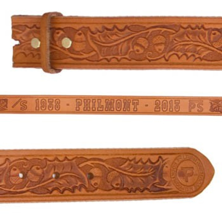 Philmont Traditional Leather Belt 75th Anniversary