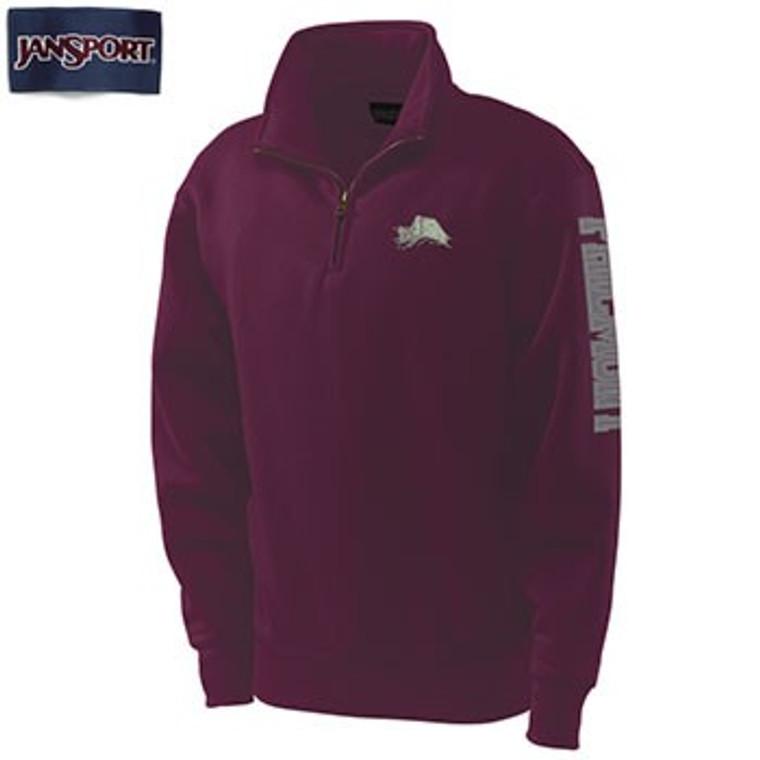 JanSport Philmont 1/4 Zip Tooth Sweatshirt