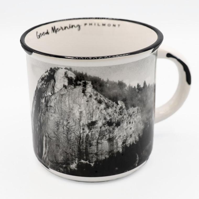Black and White Souvenir Mug