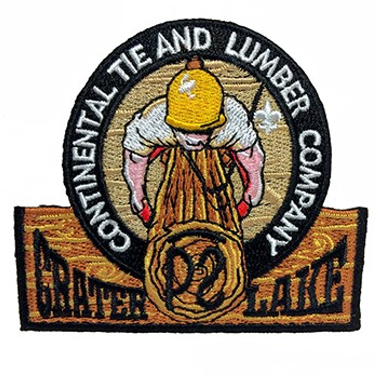 Crater Lake Camp Patch