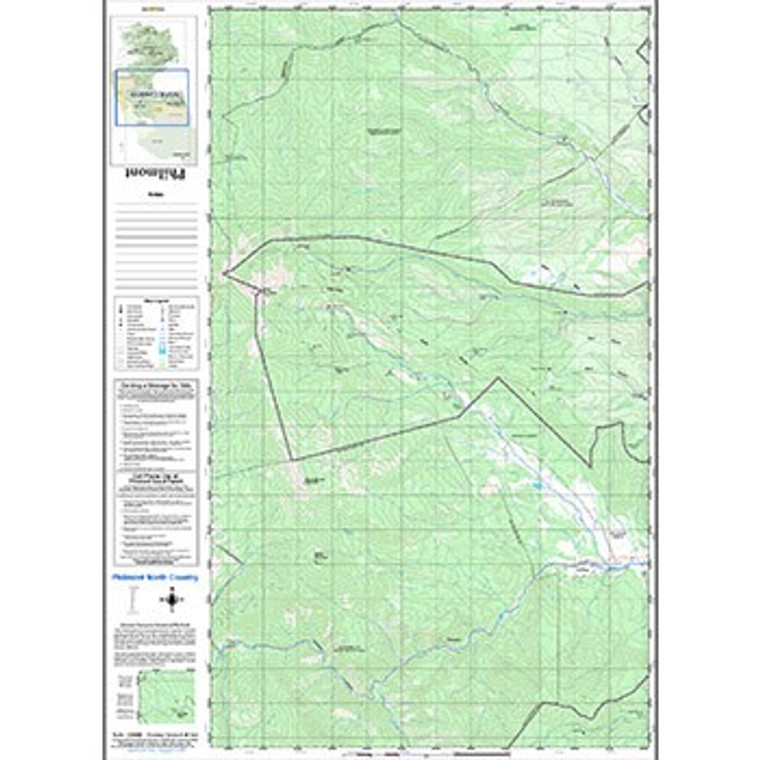 Philmont North Country Sectional Map