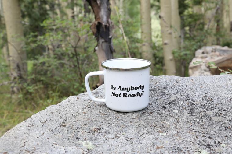 Metal Quote Mug - Hike On
