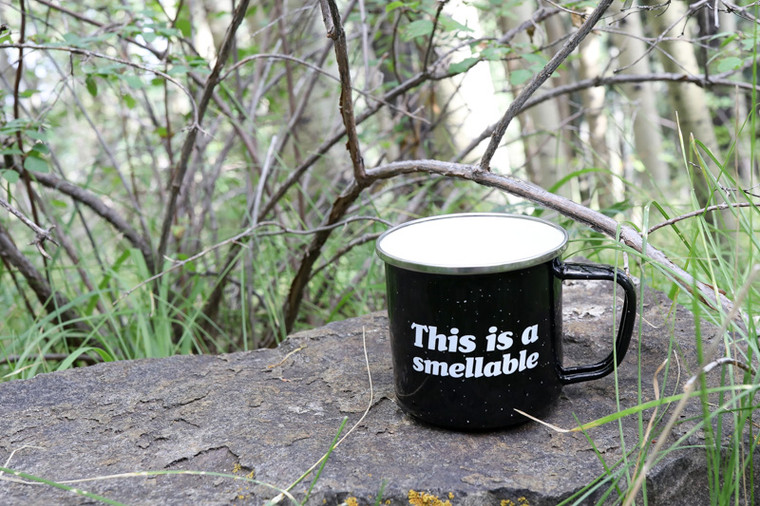 Metal Quote Mug - Smellable