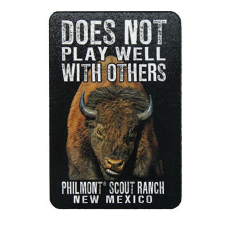 Philmont Buffalo Magnet
