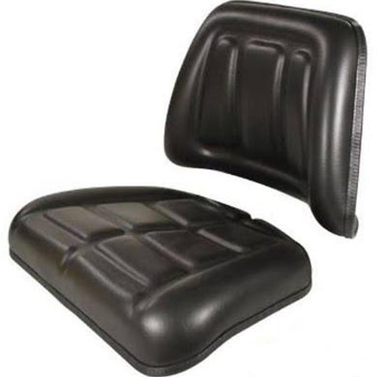 MF Black Seat Cushion Set Fits 20E 20F 30E 40E 50E 240 253 3102795m1 3102796m1