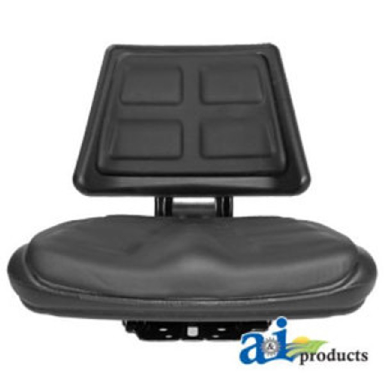 T110BL Black Universal Tractor Seat with Trapezoid Back