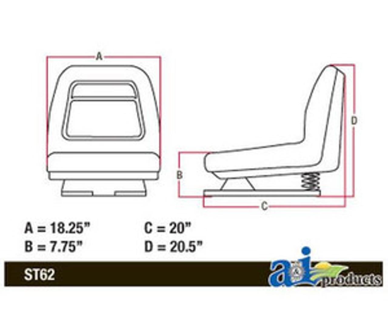JD Lawn Mower Flip Style Seat AM131801 LX255, LX26, LX277, LX279, LX280, John Deere Lx Mower Wiring Diagram on john deere lx279 wiring diagram, john deere z225 wiring-diagram, john deere mower wiring diagram, john deere 455 wiring-diagram, john deere gt245 wiring diagram, john deere lx280 wiring diagram, john deere gx335 wiring diagram, john deere 155c wiring-diagram, john deere la115 wiring diagram, john deere ignition wiring diagram, john deere 212 wiring-diagram, john deere x720 wiring diagram, john deere lx277 wiring-diagram, john deere x360 wiring diagram, john deere z445 wiring diagram, john deere lt180 wiring diagram, john deere m wiring-diagram, john deere x324 wiring diagram, john deere 145 wiring-diagram, john deere x495 wiring diagram,