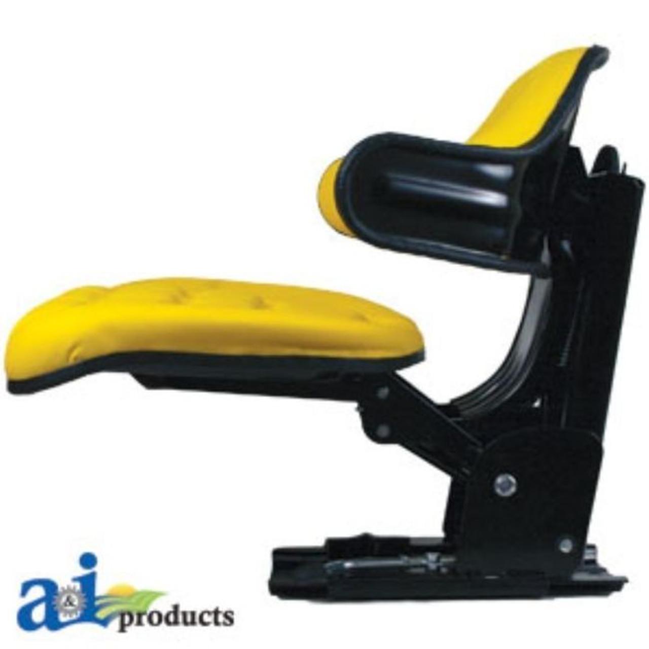 Universal Yellow Flip Stlye Seat Fits John Deere WF222YL