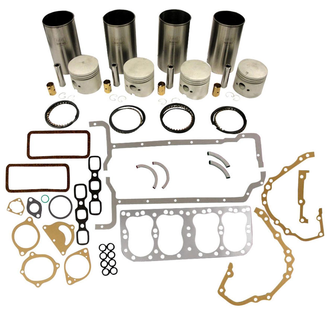 Ford Basic Engine Overhaul Kit 8N 9N 2N .090 Thick Liners