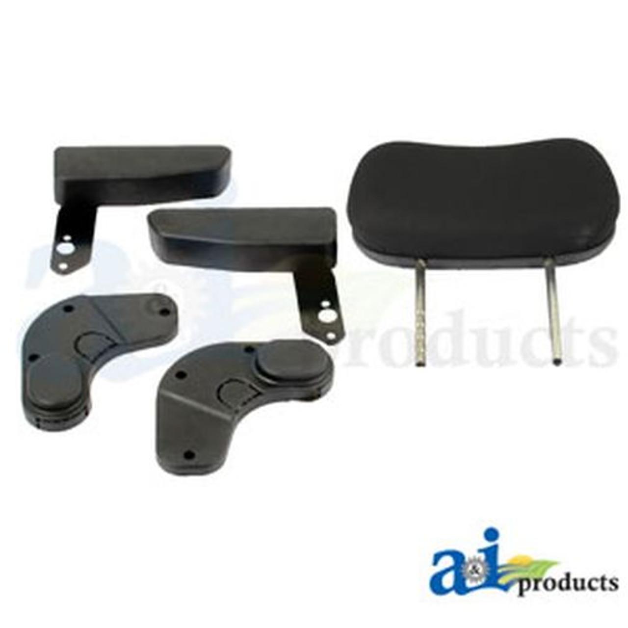 Seat, F10 Series, Air Suspension / Armrest / Headrest / Black Cloth