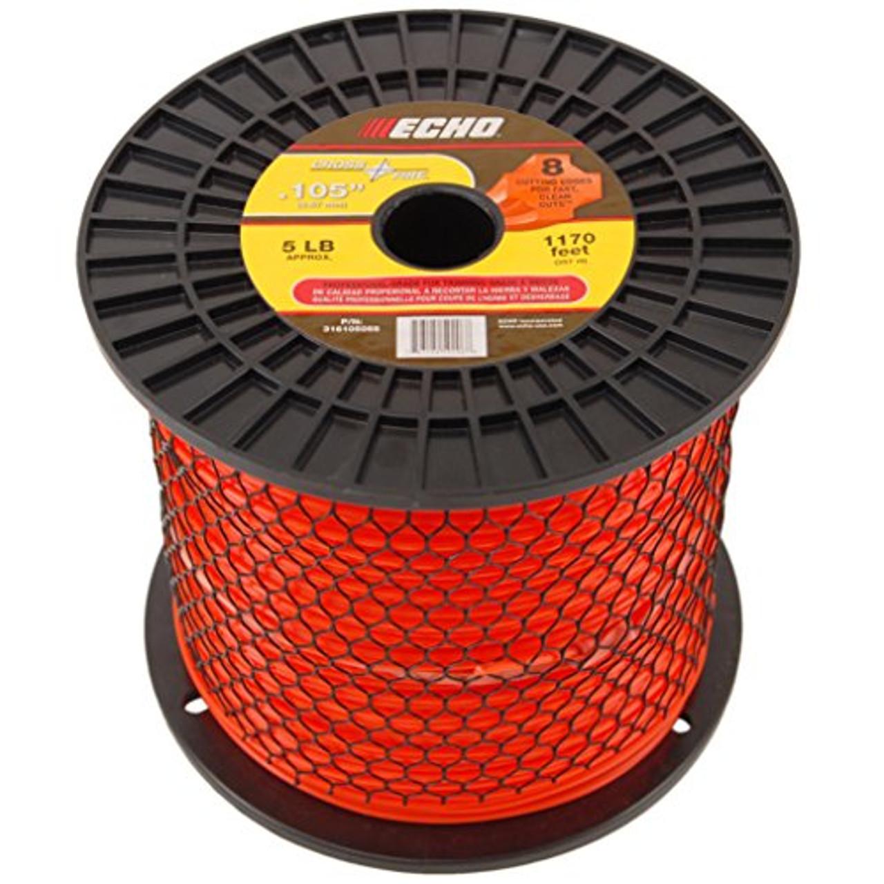 """ECHO 316105055 .105"""" Cross Fire Trimmer Line 5 LB Spool"""