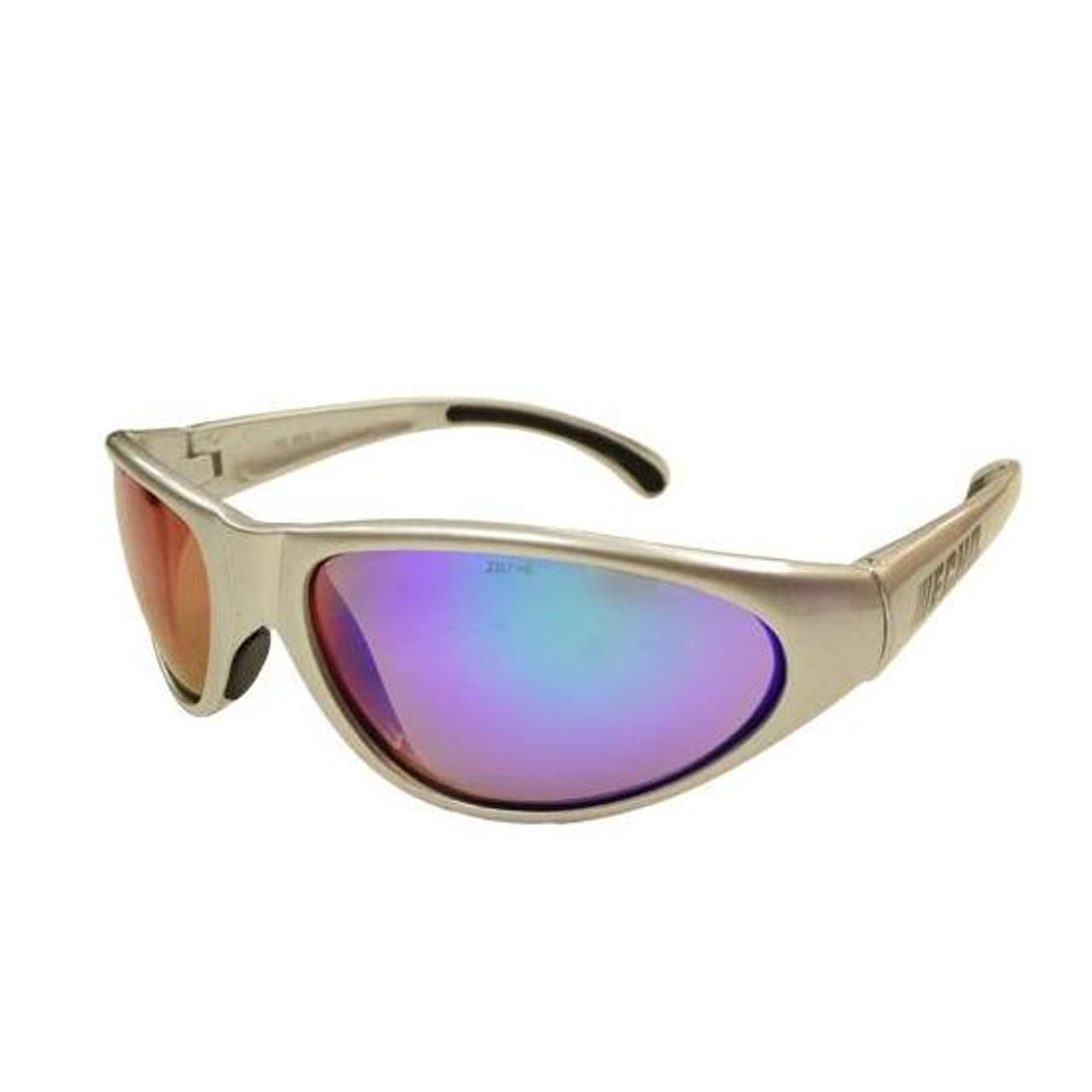 ECHO OEM PRO II Safety Glasses, Mirror Lens Sliver Frame 102922452