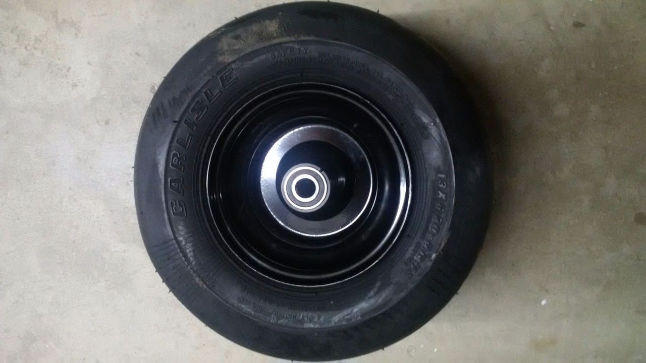 Bad Boy Mower OEM 13X6.50-6 Wheel and Tire Assembly 022-2017-00