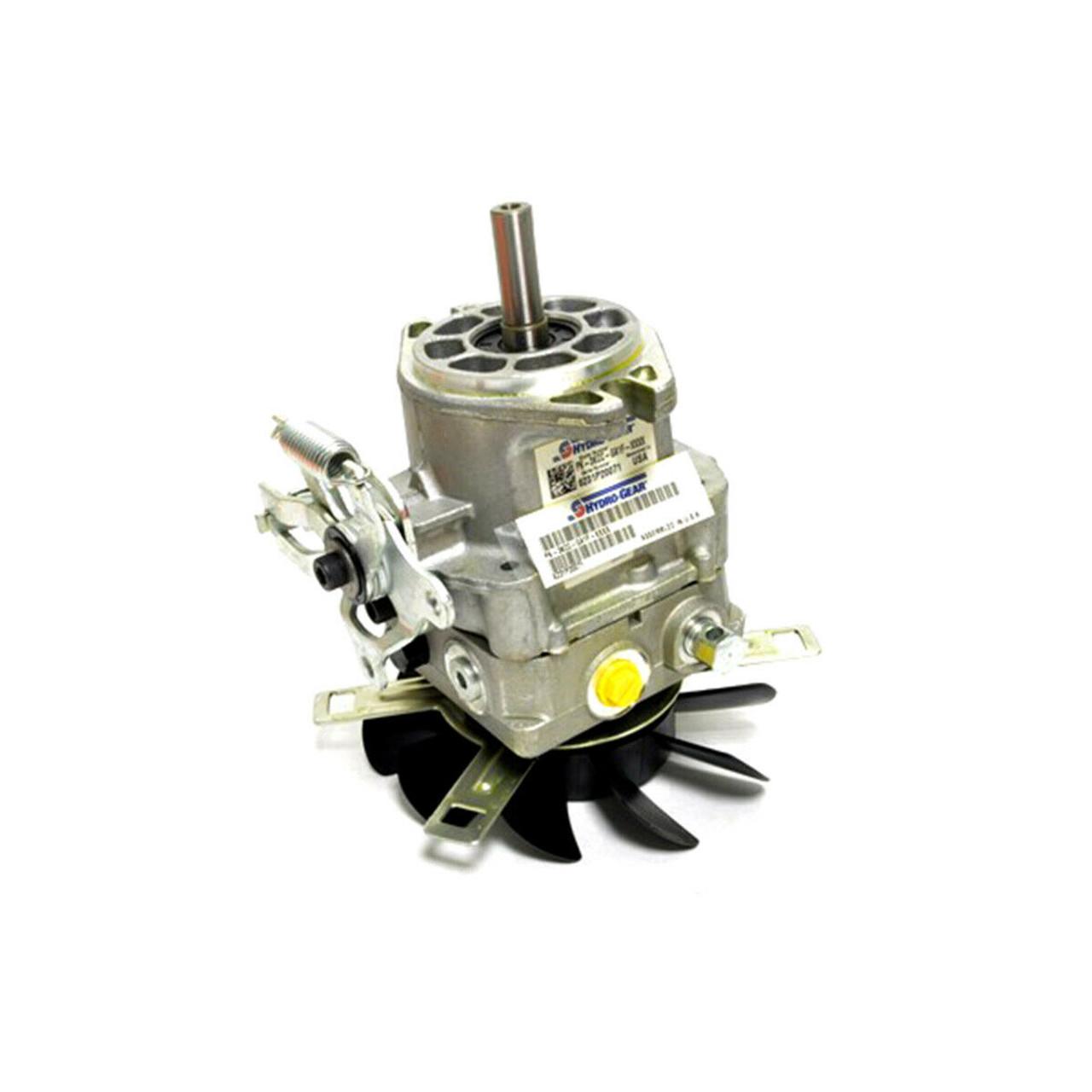 SCAG Genuine OEM Hydrogear Pump with Fan (RH) 12CC 485574