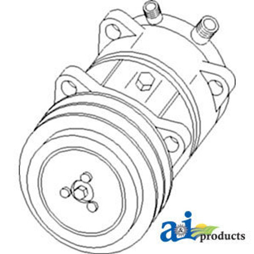 Case/IH Air Condition Compressor Assembly A177068