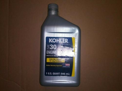 1 Quart OEM Kohler SAE 30 Engine Oil