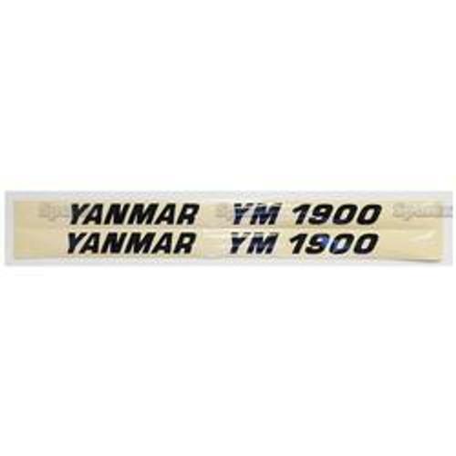 New Yanmar 1900 Decal Set