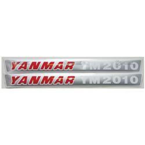 New Yanmar 2010 Decal Set